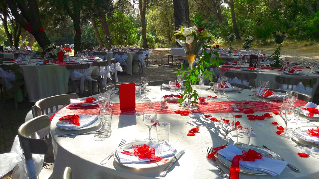 Mariage - tables