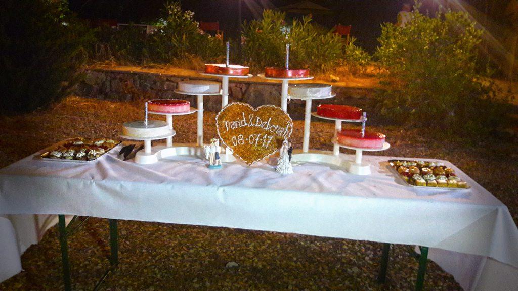 Mariage - Pièce desserts personnalisés